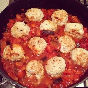 Healthy turkey mince meatballs