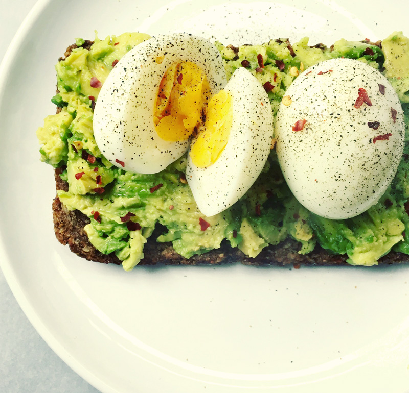 Eggs and smashed avocado on toast healthy eating recipes eatwise smashed avocado and eggs recipe forumfinder Gallery
