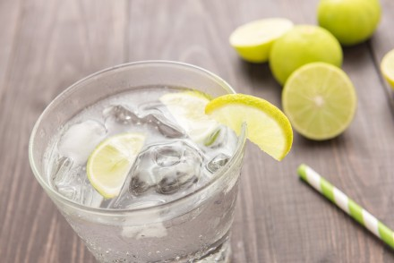 Soda and lime water