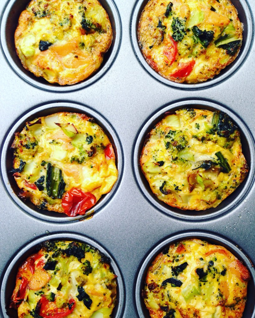 Healthy egg muffins cups recipe