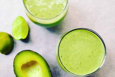 Green super smoothie recipe