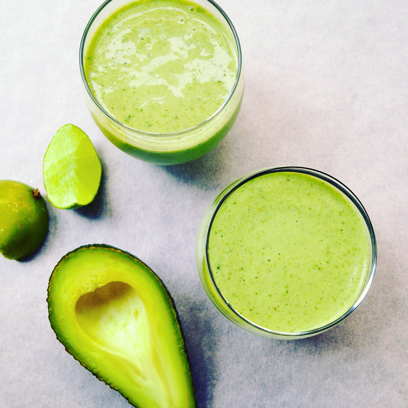 Green super smoothie recipe