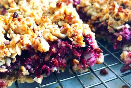 Fruit crumble bar recipes