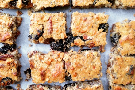 Healthy cranberry oat granola bars recipe