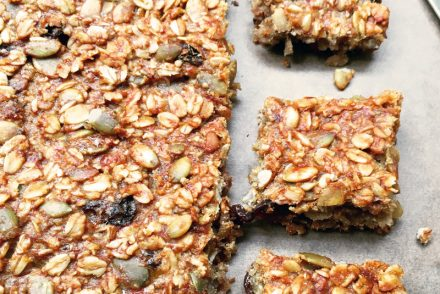 Banana flapjacks recipe