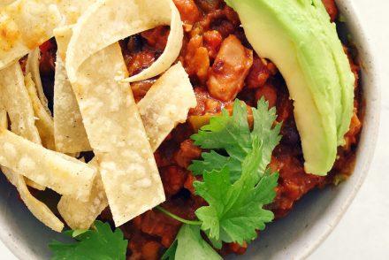 Healthy chilli con carne recipe
