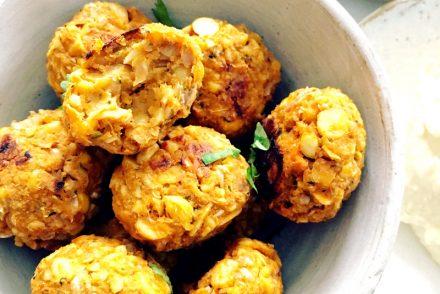 Sweet potato falafel recipe