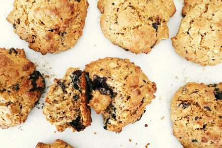 Chocolate chip olive oil cookies recipe